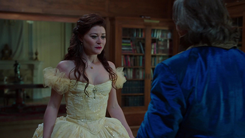 The Skirt Is Less Full Still Stunning Top Looks Similar To Once Upon A Time Belles Yellow Dress But Not As Poofy