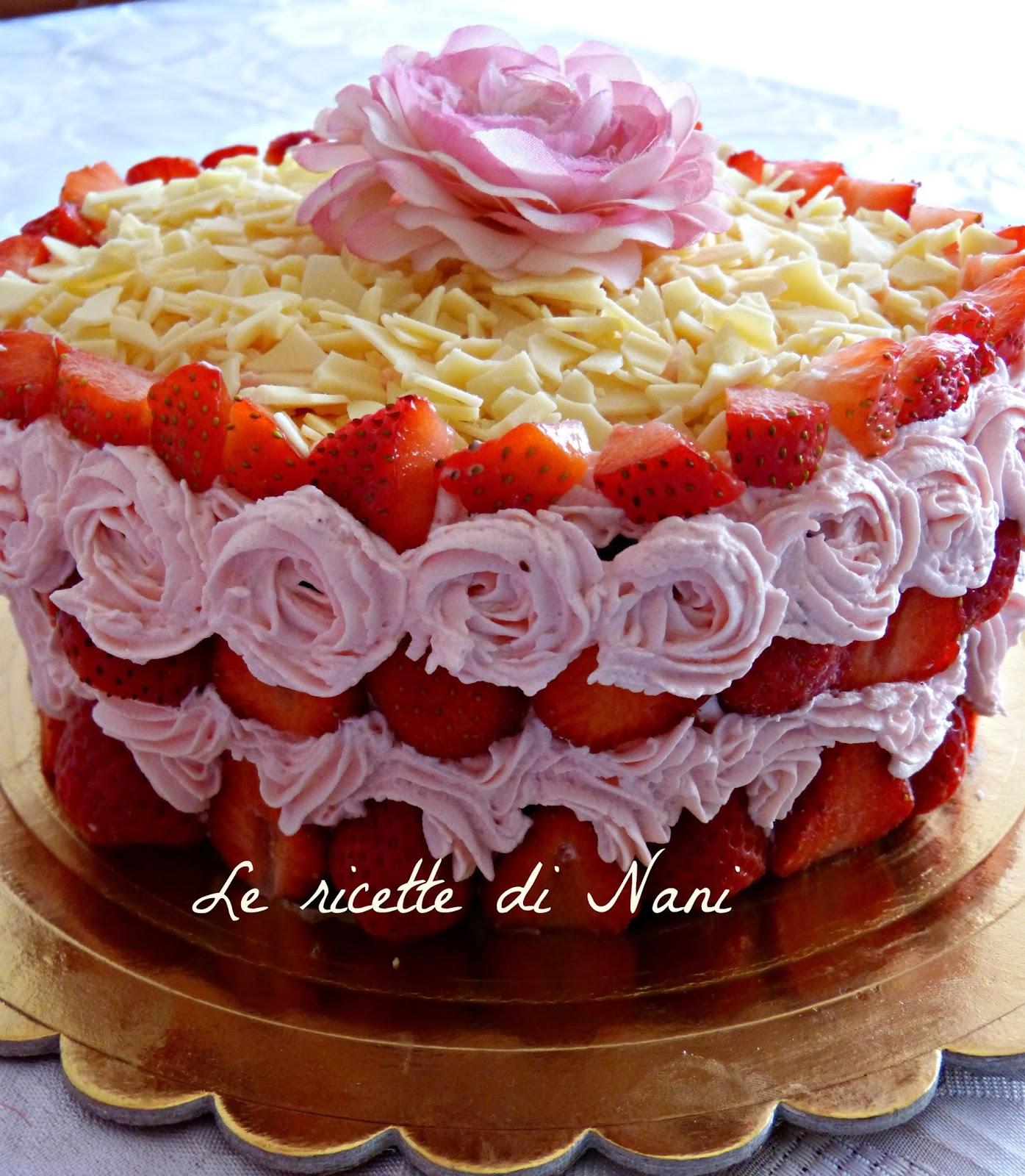 torta per il mio anniversario e festa della mamma!