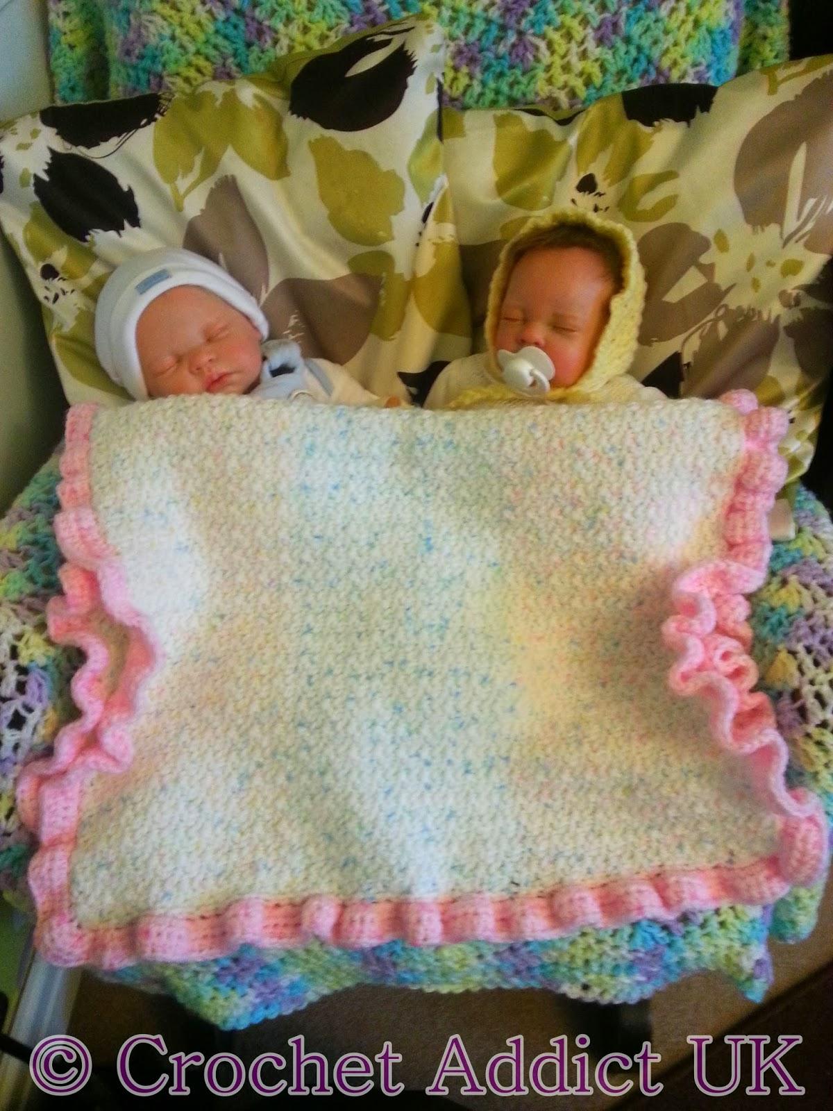 Baby Pram Blanket Free Crochet Pattern ~ Crochet Addict UK