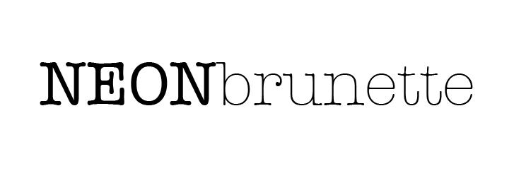 NeonBrunette