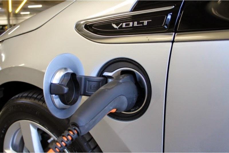 Elektrisch tanken voor de Chevrolet Volt