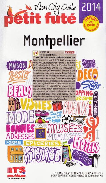 Article dans le Petit Futé Montpellier 2014 !
