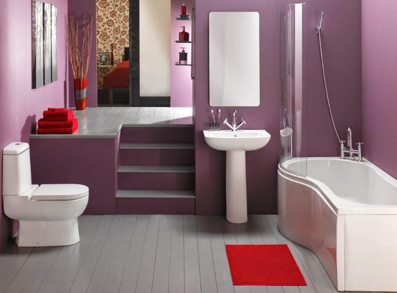 Sch mas de couleurs et accessoires pour salle de bains for Salle de bain 3 couleurs