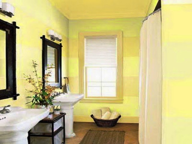 wall paint color for small bathroom