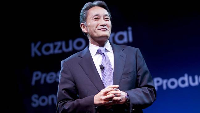 Kazuo Hirai ( ) Sony's new CEO