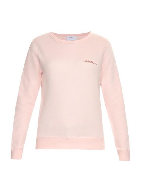 """Sweatshirt """"Amour"""" - 95€ - Maison Labiche"""