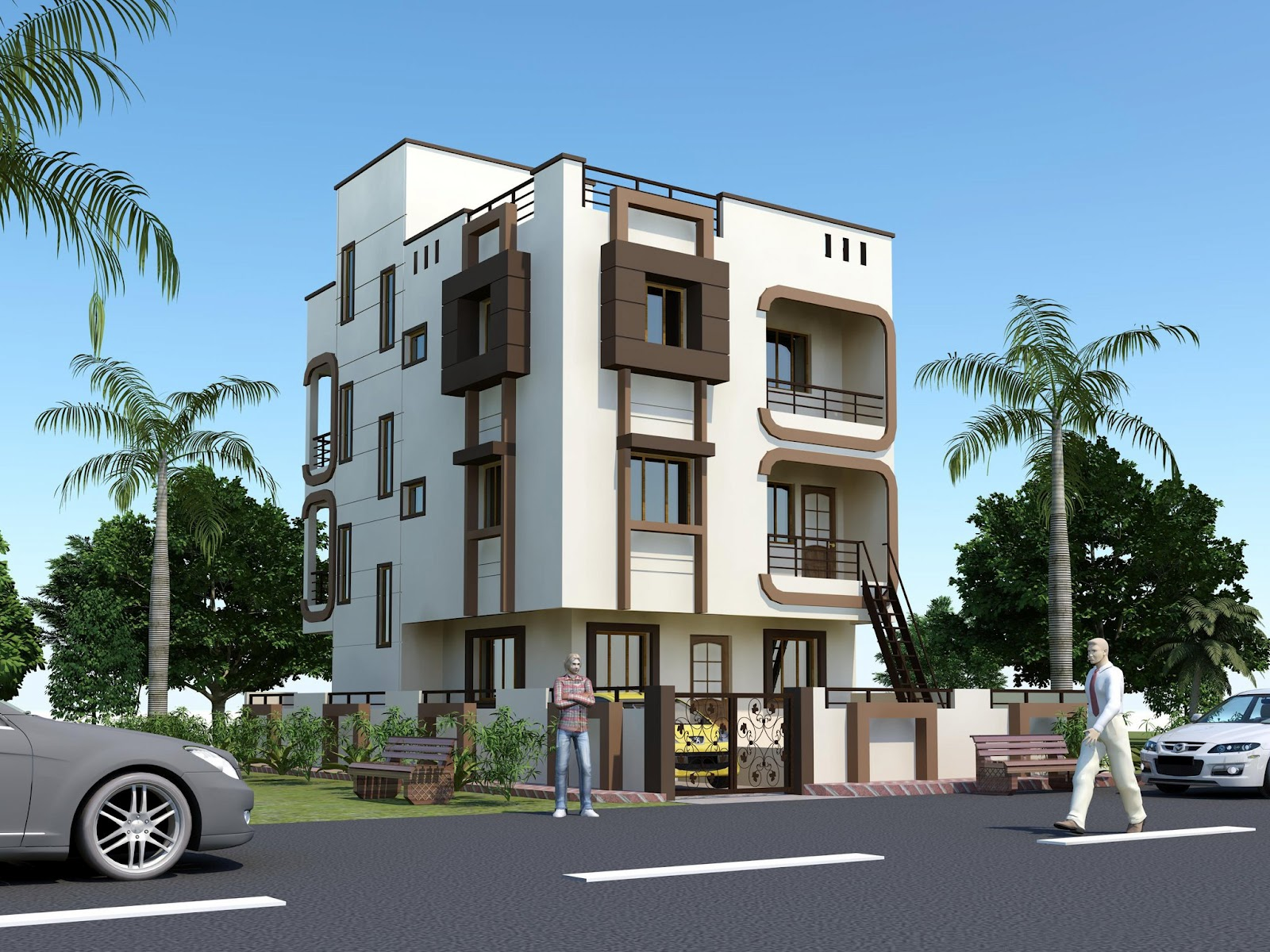 Front Building Elevation Small House Photo : Window elevation designs for small houses in india