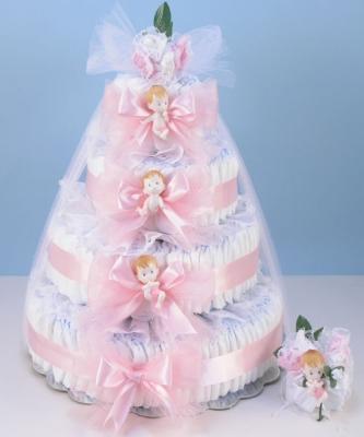 Diaper Cake Grande Girl