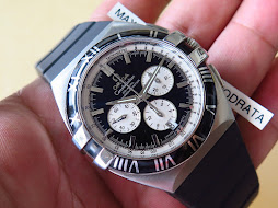 OMEGA CONSTELLATION DOUBLE EAGLE CHRONOGRAPH - AUTOMATIC COAXIAL 3313