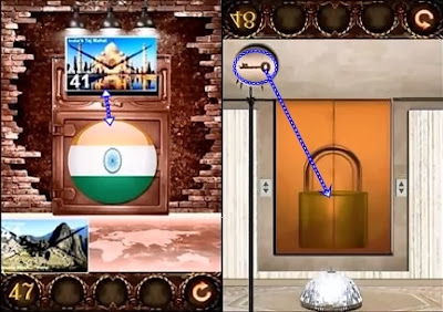 Best game app walkthrough 100 inferno escape level 46 47 for 100 floor 49