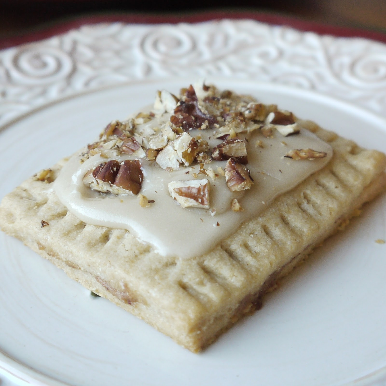 ... Ingredient: Apple Butter Poptarts with Maple Glaze and Toasted Pecans