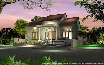 panduan bangunan rumah: model rumah satu lantai