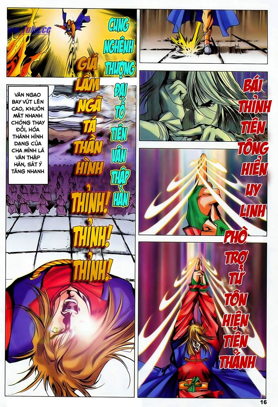 Lục Đạo Thiên Thư chap 37 - Trang 16