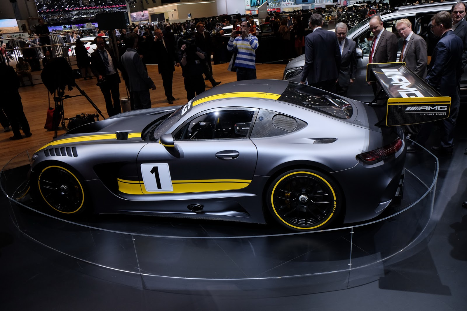 Mercedes-AMG's GT3 Racer Could Inspire A Production Model ...