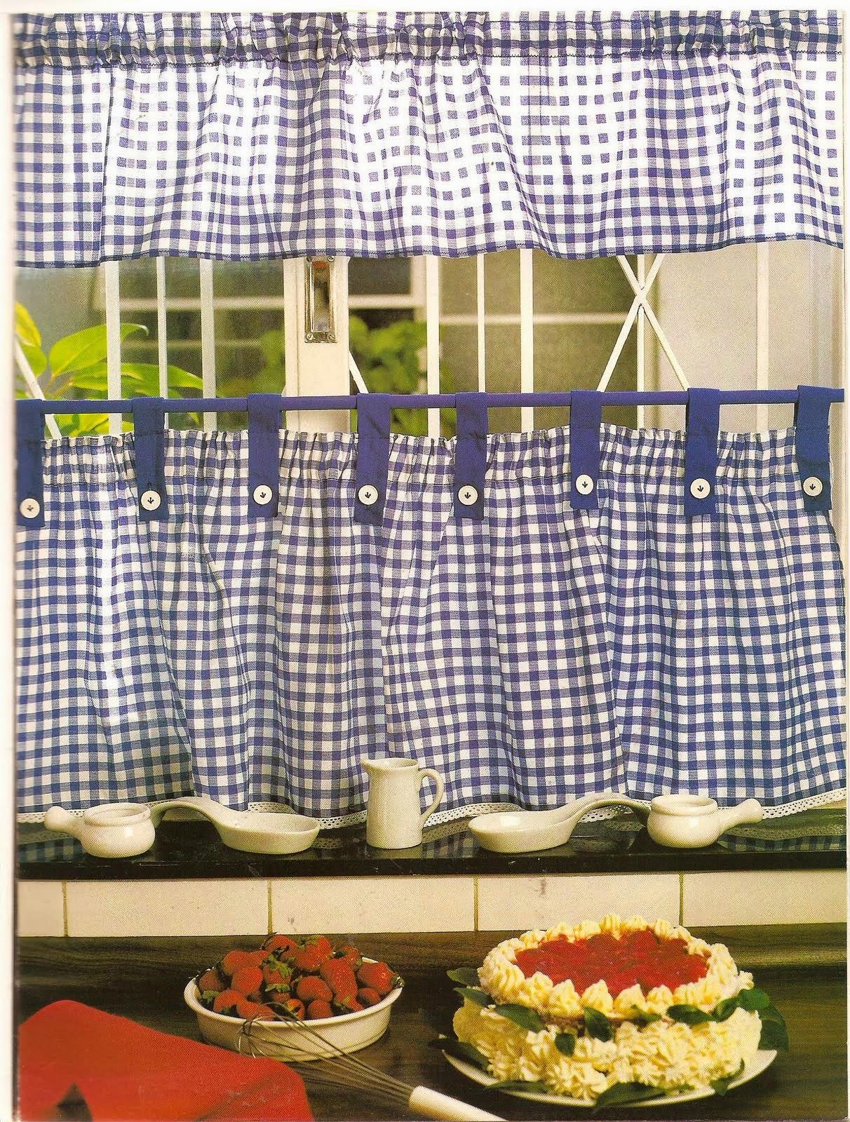 Como hacer cortinas revistas de manualidades gratis - Hacer cortina ...