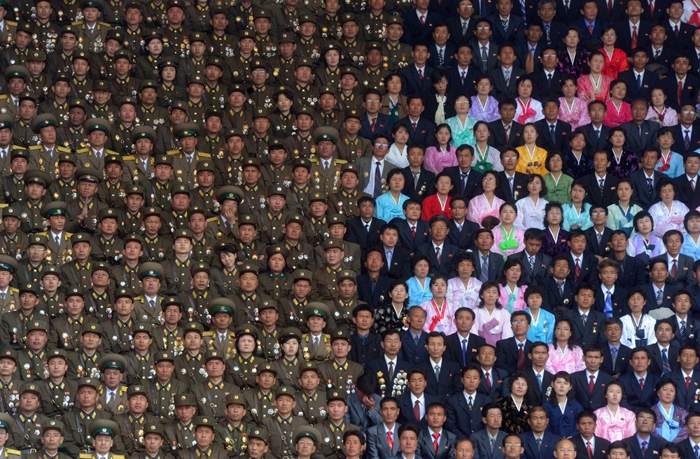 The 100 best photographs ever taken without photoshop - Celebrating the 100th anniversary of the birth of Kim Il-sung, North Korea's founder