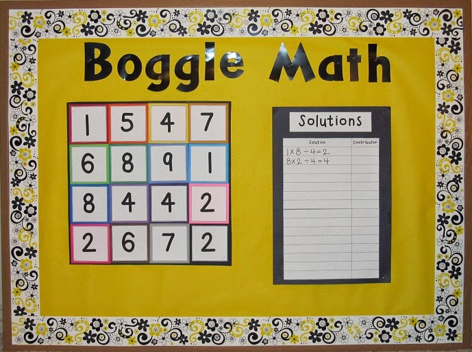 Doing Math Routty Way Engaging_22 on High School March Bulletin Board Ideas