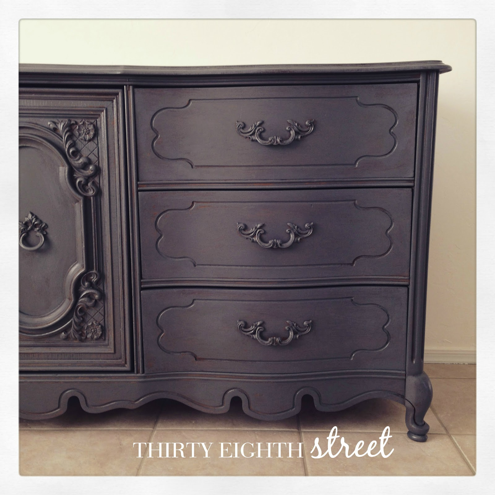 chalk paint furniture before and afterThe Carolina Dresser and A GIVEAWAY  Thirty Eighth Street