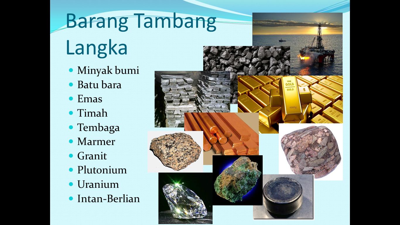 Presentasi Ekonomi Kelangkaan Barang Tambang ~ My Word ...