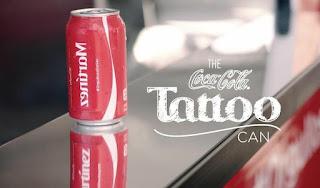 Green Pear Diaries, publicidad, advertising, Coca Cola: Tatoo Can, latino, latin