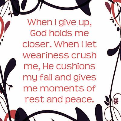 God Holds Me