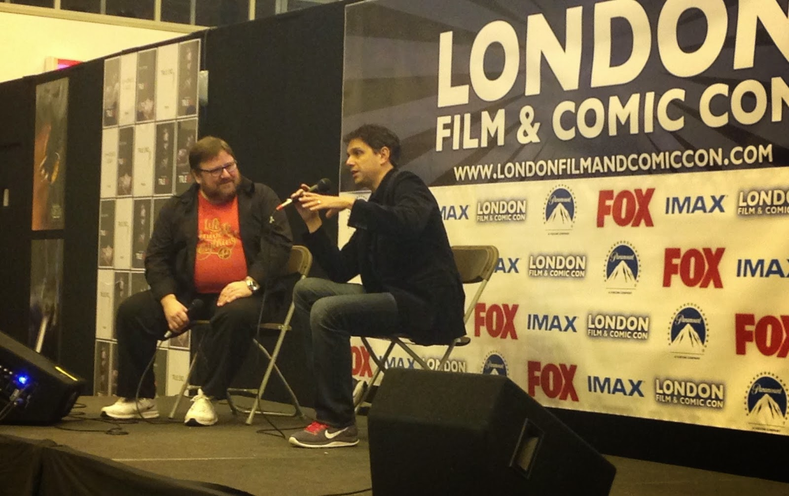 London Film & Comic Con Winter Ralph Macchio