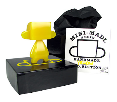 Yellow Edition Mini Mad'l 3 Inch Resin Figure by MAD