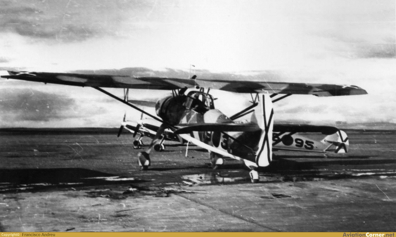 la légion condor et aviation italienne LC+HS-126+A-1+19-3+ZARAGOZA+1939+COL+RAMON+RULLAN+FRONTERA+VIA+FCO+ANDREU
