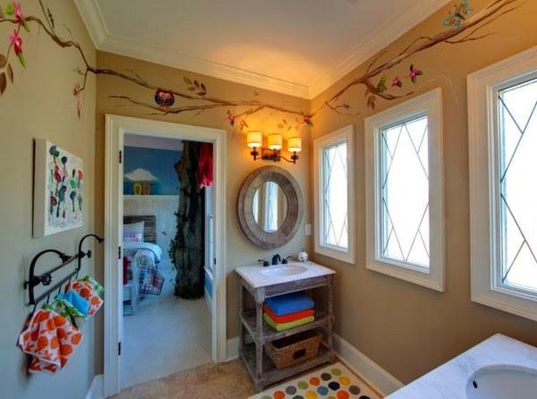 Medidas Baño Para Ninos:Fotos de baños para niños – Colores en Casa