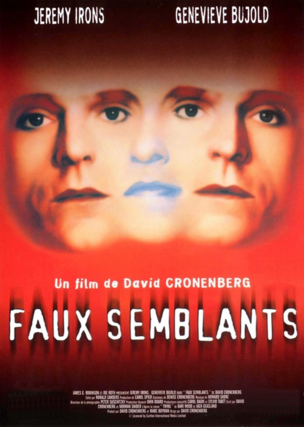 Affiche de Faux-Semblants, de David Cronenberg (1988)