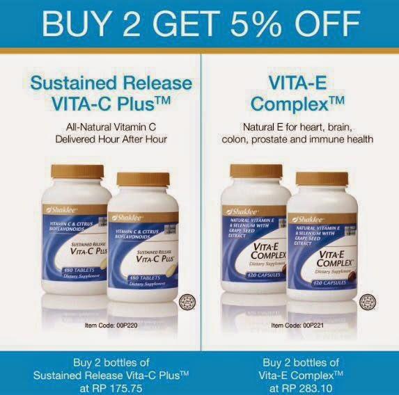 twin pack vitamin e dan vitamin c