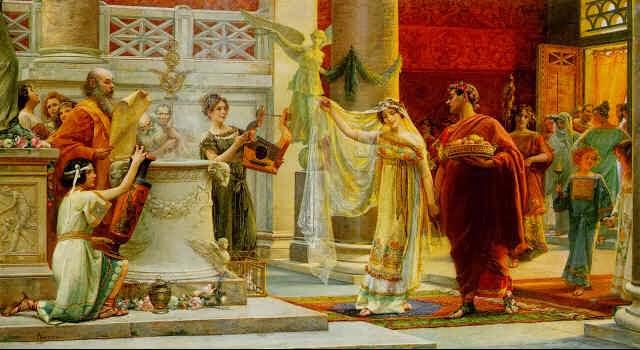 la toge et le glaive le mariage dans la rome antique 1 re partie. Black Bedroom Furniture Sets. Home Design Ideas