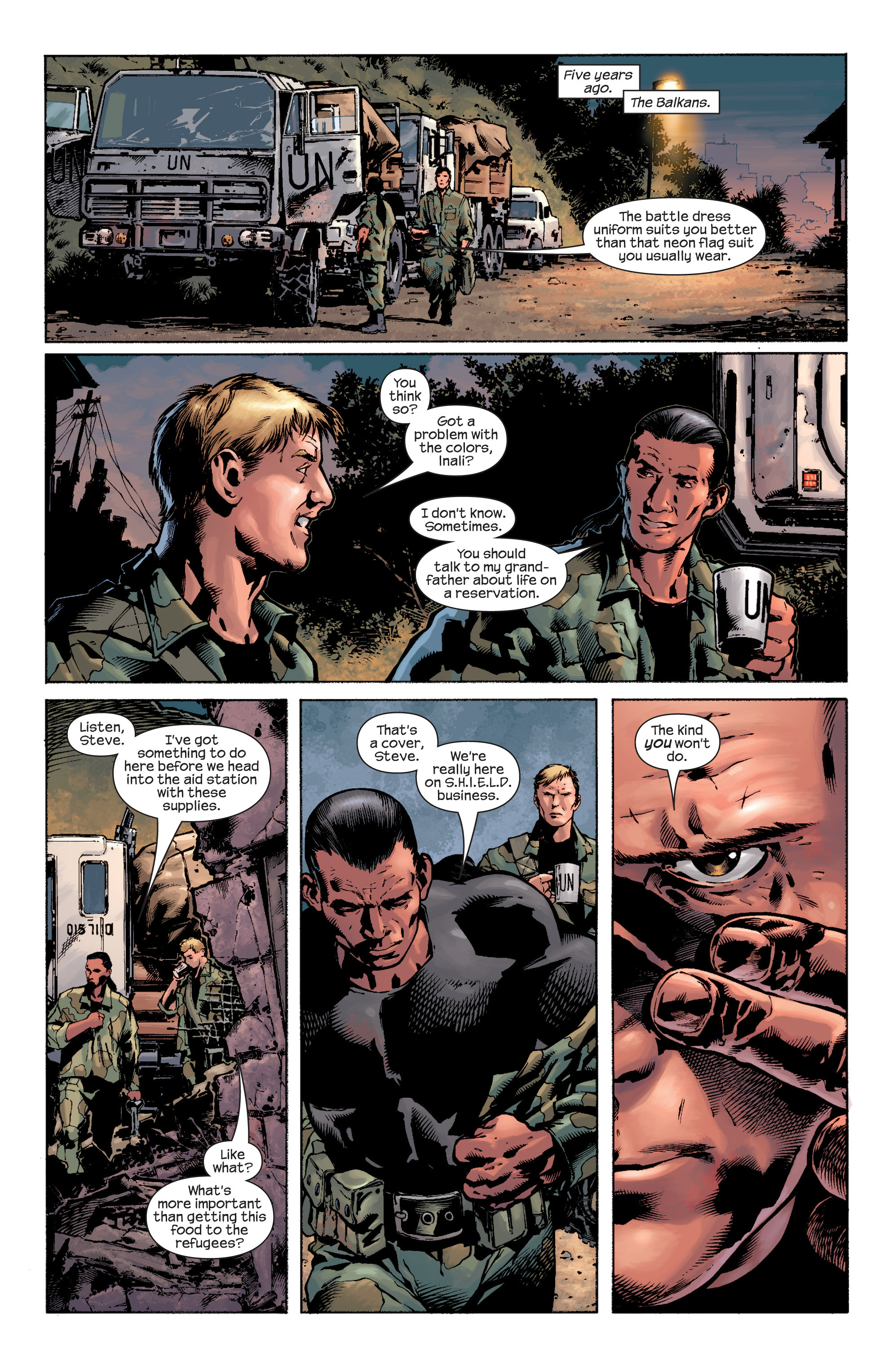 Captain America (2002) Issue #8 #9 - English 6