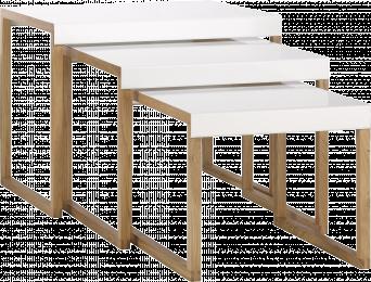 Les tables basses gigognes caract rielle bloglovin - Table basse kilo habitat ...