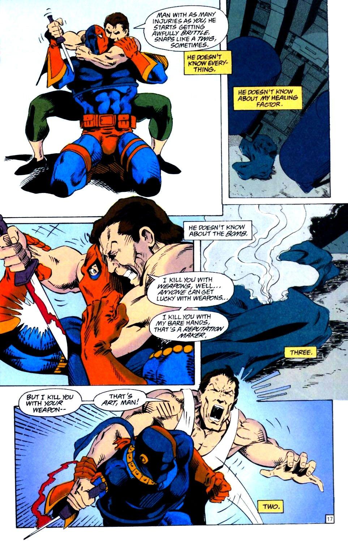 Deathstroke (1991) Issue #25 #30 - English 18