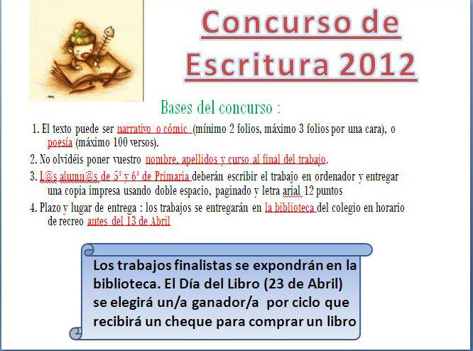 Concursos Infantil y Juvenil - Escritoresorg