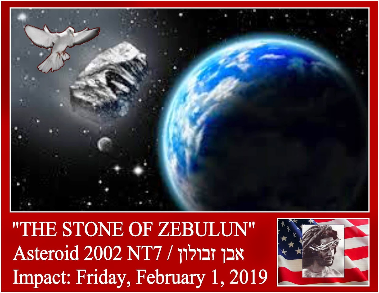 February 1, 2019 asteroid 23