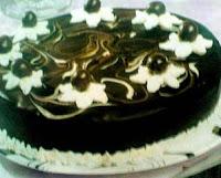 Cara Membuat Cake Coklat Marmer