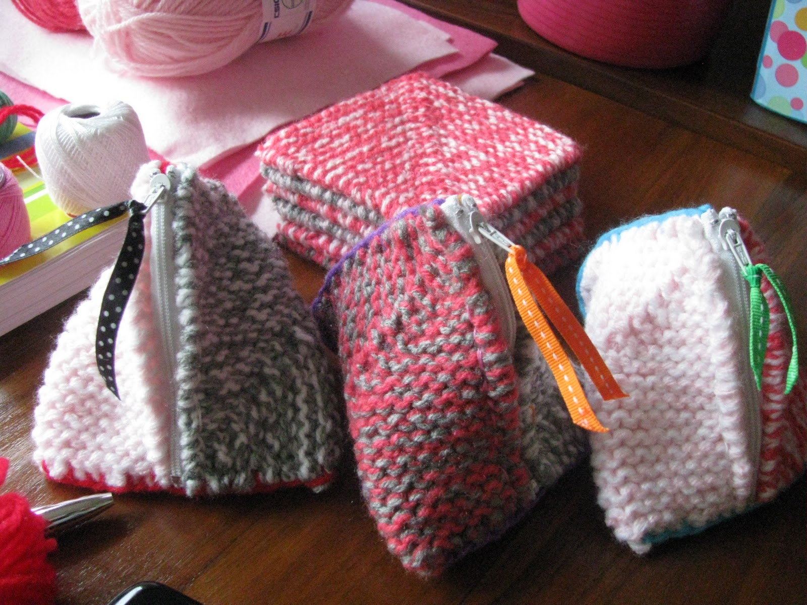 Pyramid Knitting Bag Pattern : homemade@myplace: Make it! (tutorials !!!!)