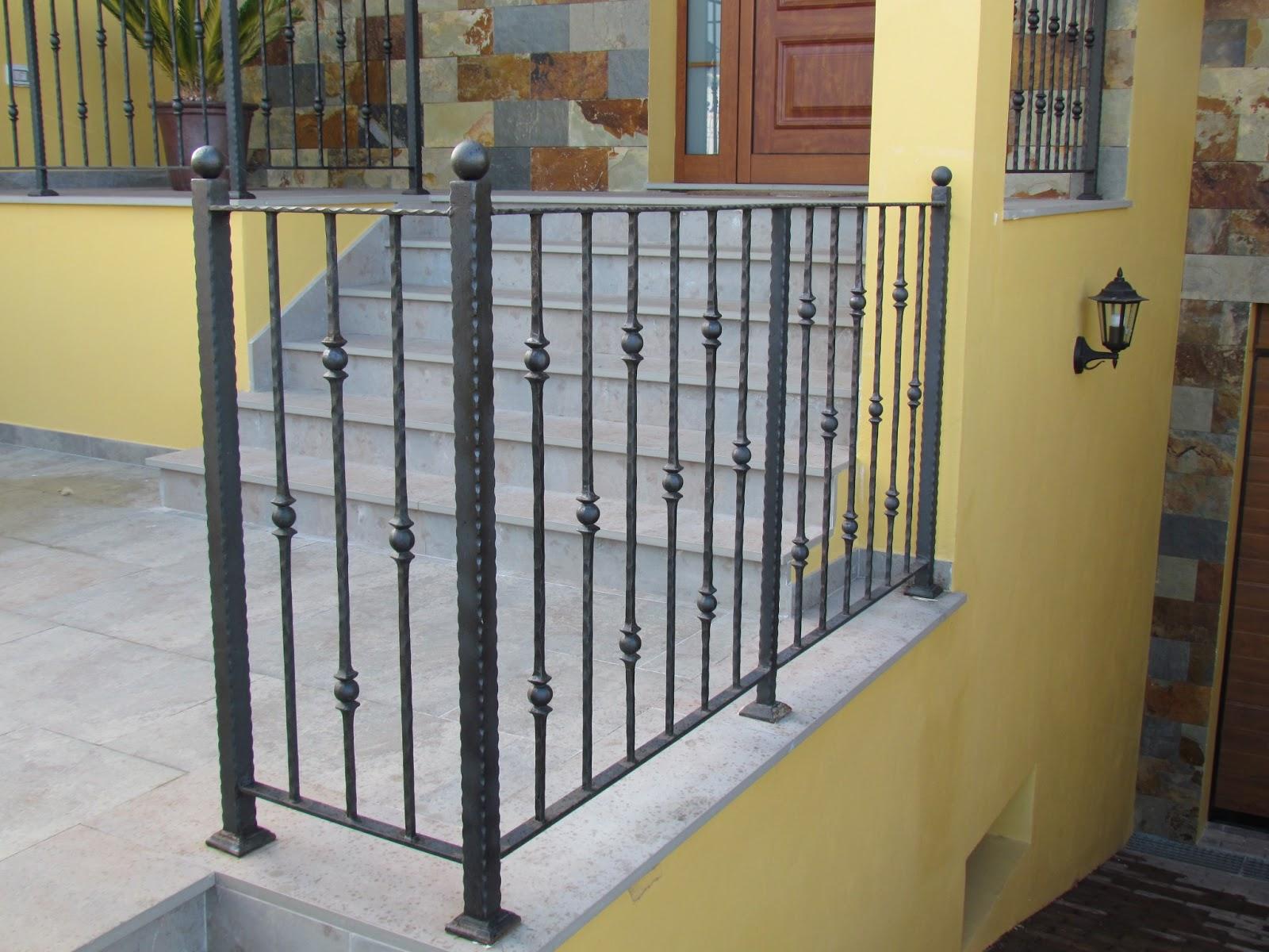 Acero inoxidable tenerife barandas de forja tenerife - Barandas de forja para escaleras ...