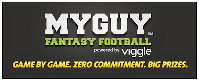 Viggle, Viggle Football, My Guy, MyGuy Fantasy Football