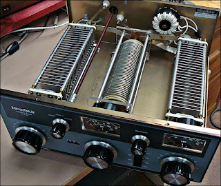 inside the heathkit sa-2060