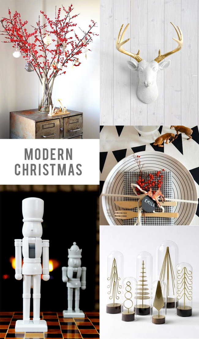 Our Favorite Modern Christmas Decor // Bubby and Bean