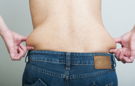 how to reduce back fat and love handles