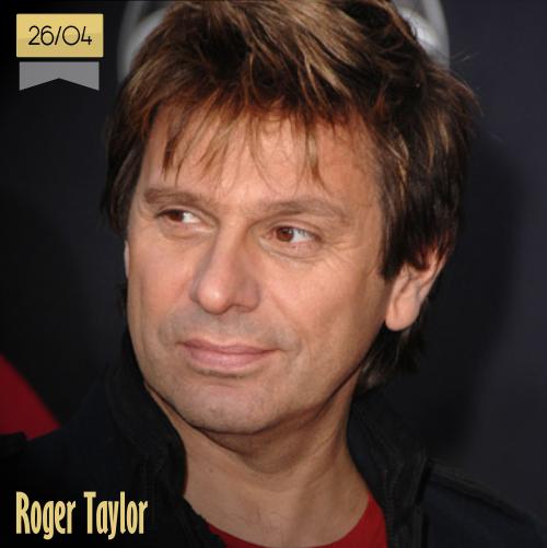 26 de abril | Roger Taylor - @duranduran | Info + vídeos