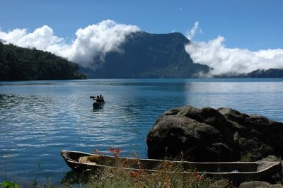 Seven Lakes Mountain In Kerinci Indonesia