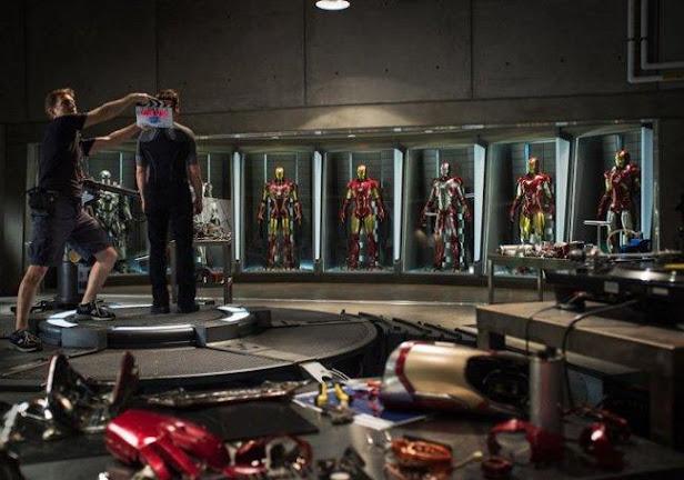 iron man 3 rodaje