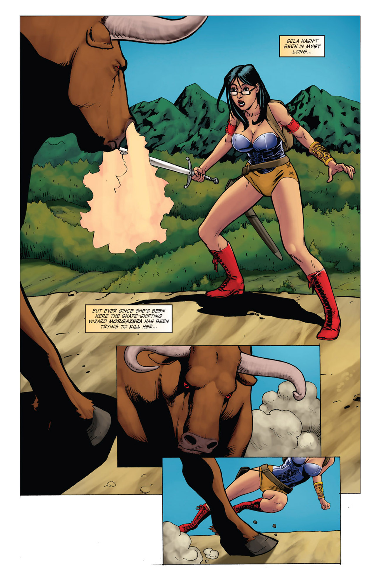 Grimm Fairy Tales (2005) Issue #53 #56 - English 3