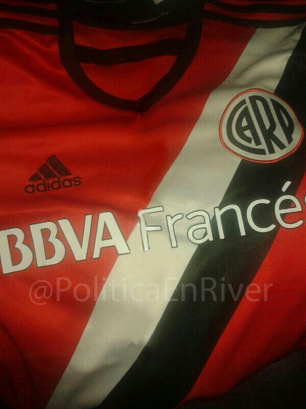 Nueva camiseta alternativa de River Plate 2014, Nueva camiseta, Alternativa, suplente, River, River Plate, 2014,