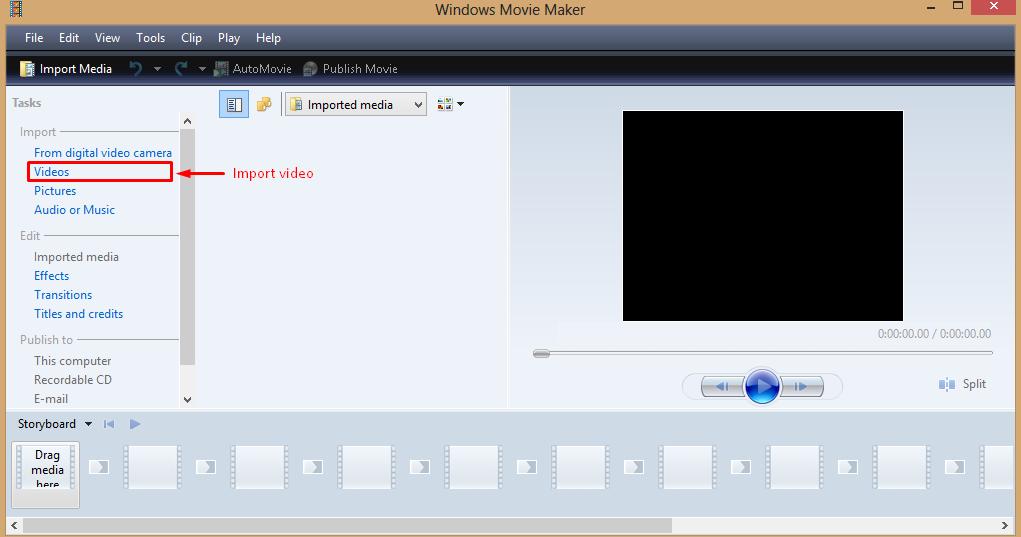Cara Memotong Video Dengan Windows Movi Maker Graphic